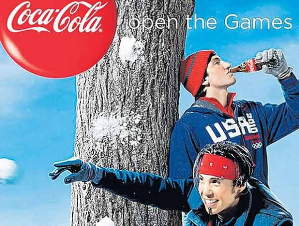 Thế vận hội Coca cola thêm ở Blue