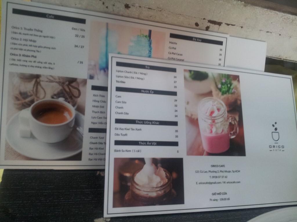In PP cán format làm menu chất lượng cao